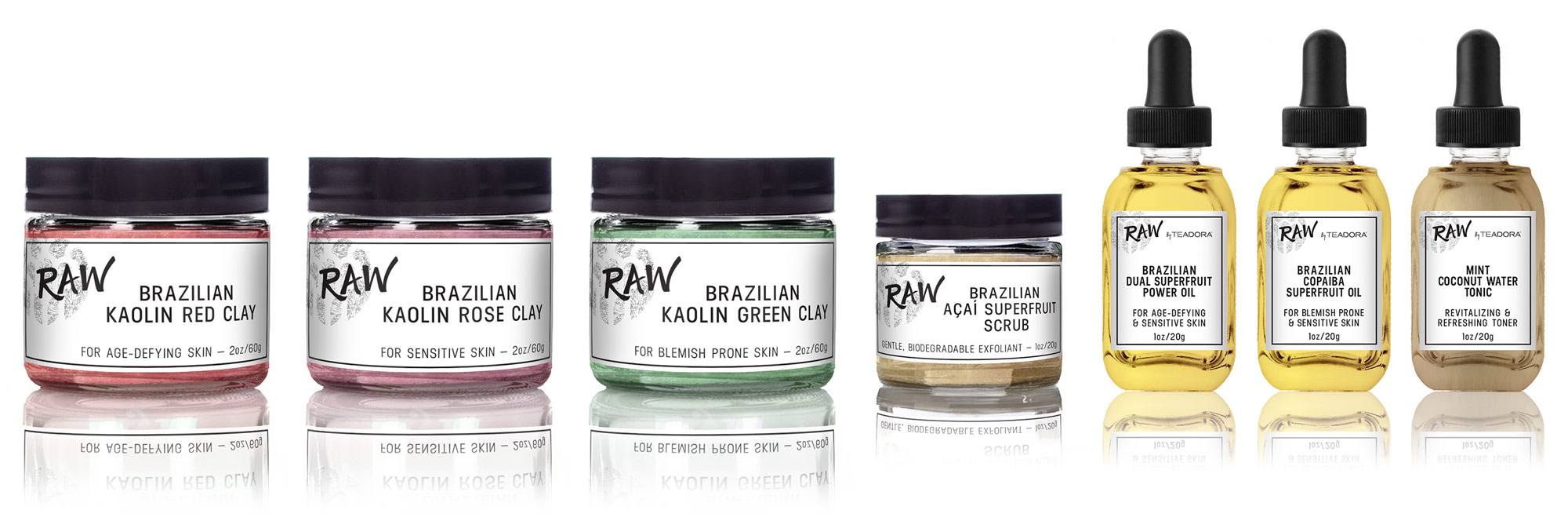 RAW by Teadora Collection