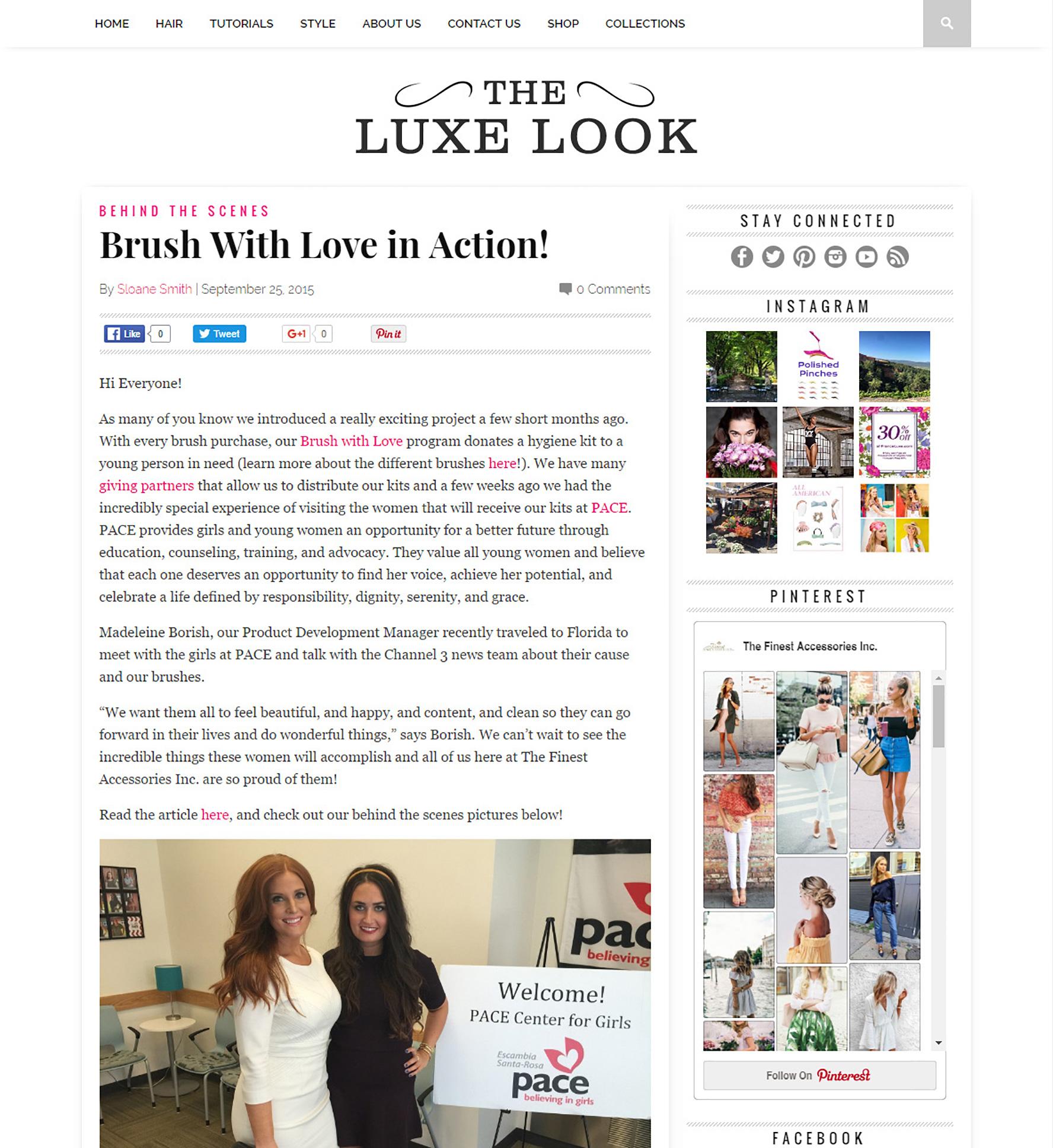 blog luxe