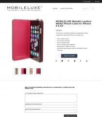 MobileLuxe Online Store